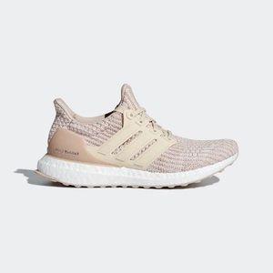 adidas Ultraboost in Ash Pearl, Linen Sneakers